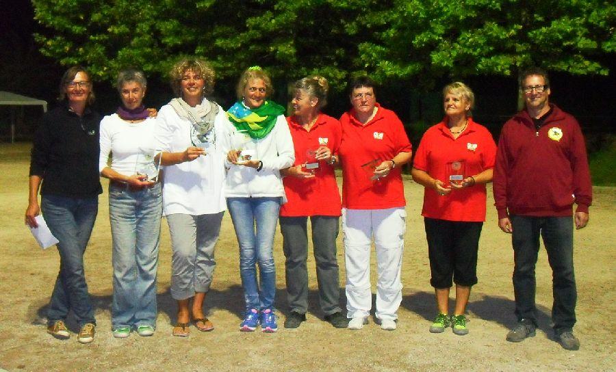 LM Frauen Triplette Finalistinnen