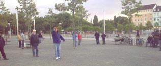 Dienstags in Mannheim an der Alten Feuerwache...