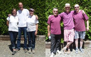Zwei Teams von Badenia & Bouletten bei der Triplette LM und Quali am Start in Konstanz
