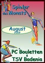 Spieler des Monats August