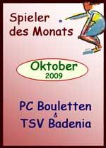 Spieler des Monats Oktober