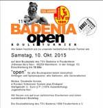 Einladung zum Badenia Open