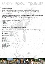 Einladung zum Fanny Radel Cup