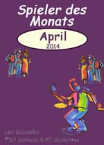 Renate ist Spielerin des Monats April!