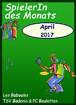 Rekordbeteiligung beim SpielerIn des Monats April - Turnier!