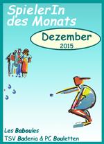 SpielerIn des Monats Dezember