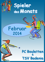 Spieler des Monats Februar