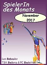 SpielerIn des Monats November