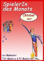 SpielerIn des Monats Oktober