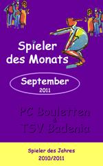 Spieler des Monats September