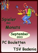 Achim G. gewinnt den Spieler des Monats September und Anita ist Spielerin des Jahres!