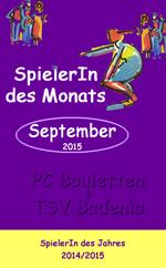 SpielerIn des Monats September/SpielerIn des Jahres